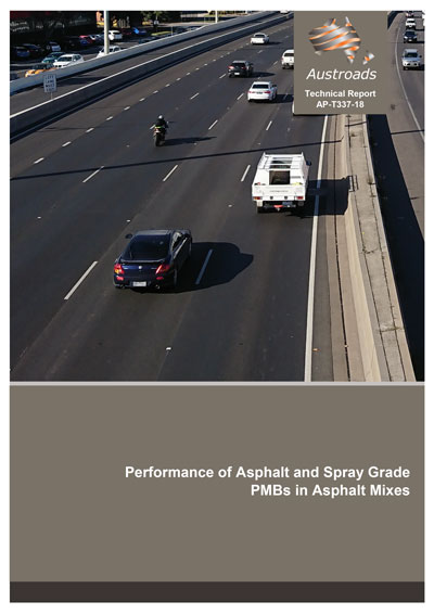 Cover of Performance of Asphalt and Spray Grade PMBs in Asphalt Mixes