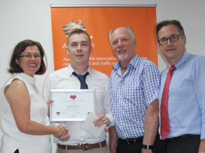 James Loney recognised in CPEE Annual Student Excellence Awards