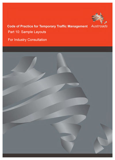 Cover of draft Code of Practice for Temporary Traffic Management