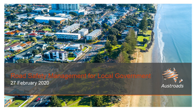 Webinar: Local Government Road Safety Management Guidance
