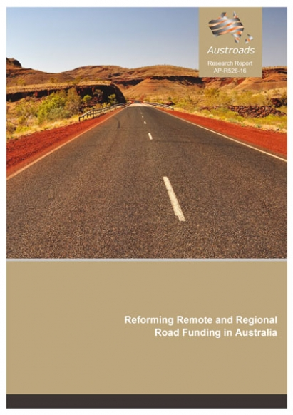 Reforming remote and regional road funding