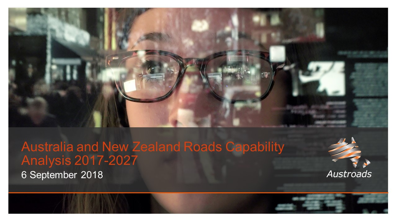 Webinar: Australia and New Zealand Roads Capability Analysis 2017-2027