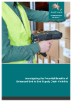 Cover of Investigating the Potential Benefits of Enhanced End to End Supply Chain Visibility