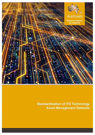Cover of Standardisation of ITS Technology Asset Management Datasets