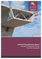 Cover of National Prequalification System: Inclusion of Specialist Precast Concrete Categories