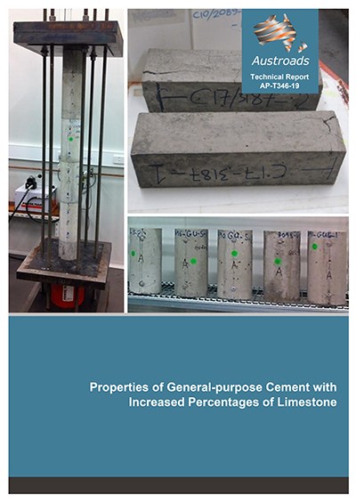 Properties of General-purpose Cement with Increased Percentages of Limestone