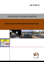 Improving Cost Allocation by Road Type
