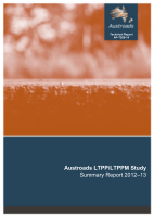 Austroads LTPP and LTPPM Study - Summary Report 2012-13