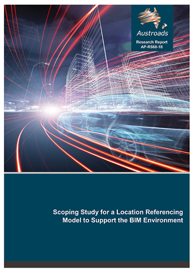 Cover of Scoping Study for a Location Referencing Model to Support the BIM Environment