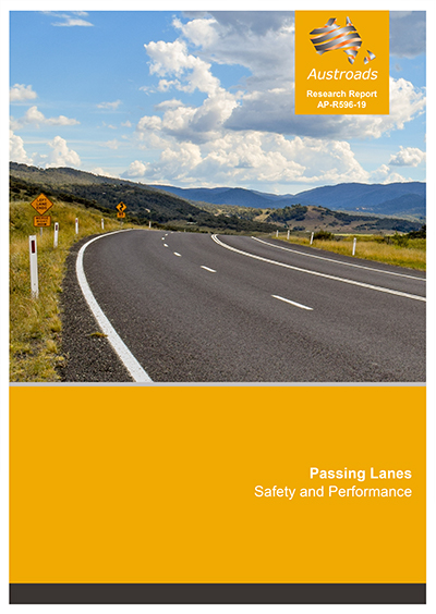 Cover of Passing Lanes: Safety and Performance