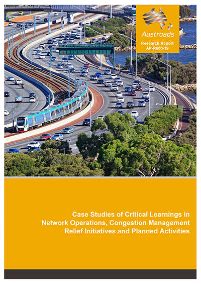 Cover of Case Studies of Critical Learnings in Network Operations, Congestion Management Relief Initiatives and Planned Activities
