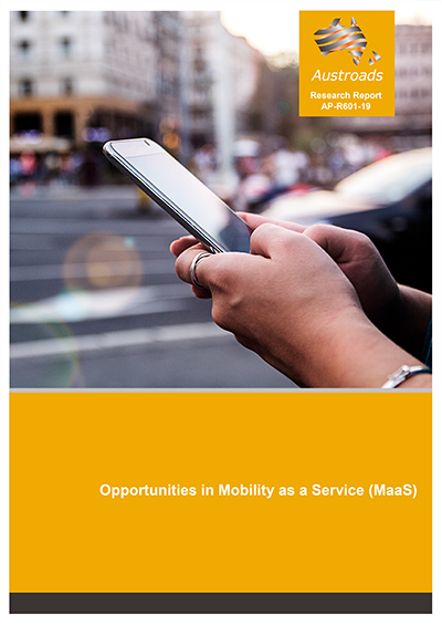 Cover of Opportunities in Mobility as a Service (MaaS)