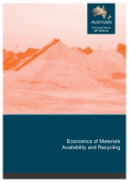 Cover of Economics of Materials Availability and Recycling