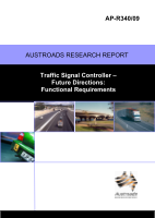 Cover of Traffic Signal Controller - Future Directions: Functional Requirements