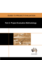 Cover of Guide to Project Evaluation Part 2: Project Evaluation Methodology