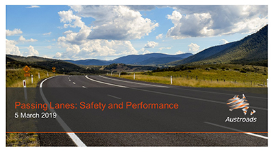 Webinar: Passing Lanes: Safety and Performance