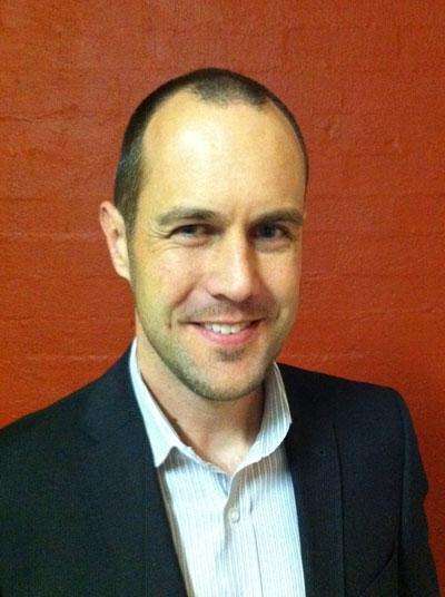 Head shot of Stuart Ballingal, newly appointed TCA executive director.