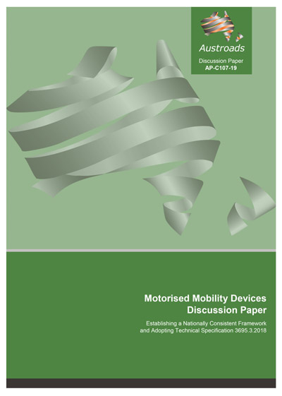 Motorised Mobility Devices Discussion Paper