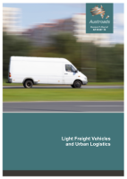 Cover of Light Freight Vehicles and Urban Logistics