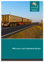 Cover of PBS Level 3 and 4 Standards Review