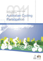 Cover of Australian Cycling Participation 2011