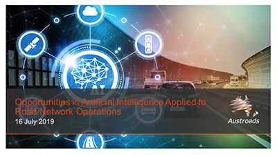 Webinar: Opportunities in Artificial Intelligence Applied to Road Network Operations