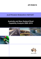 Cover of Australia and New Zealand capability Analysis 2009-19