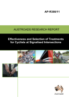 Cover of Effectiveness and Selection of Treatments for Cyclists at Signalised Intersections