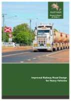 Improved Railway Road Design for Heavy Vehicles