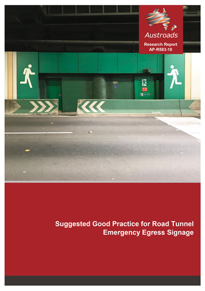 Cover of Suggested Good Practice for Road Tunnel Emergency Egress Signage