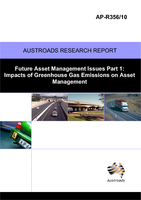 Cover of Future Asset management Issues No. 1: Impacts of Greenhouse Gas Emissions on Asset management
