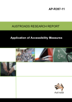 Cover of Application of Accessibility Measures