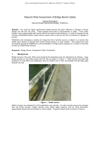 Network Wide Assessment of Bridge Barrier Safety