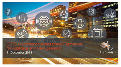 Webinar: C-ITS Compliance Assessment Framework for Australia and New Zealand