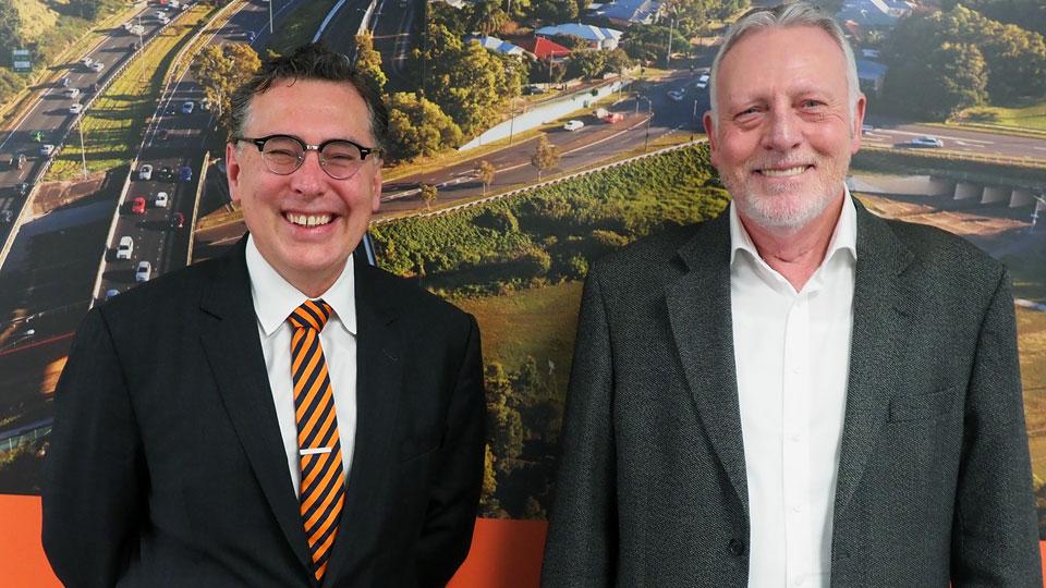Dr Geoff Allan and David Francis