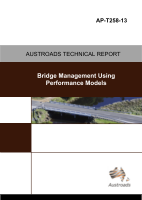 Cover of Bridge Management Using Performance Models