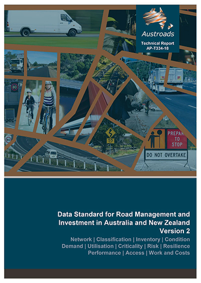 Cover of Data Standard for Road Management and Investment in Australia and New Zealand: Version 2