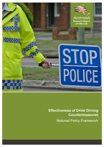 Effectiveness of Drink Driving Countermeasures: National Policy Framework
