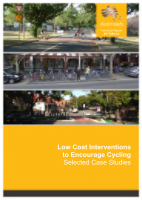 Cover of Low Cost Interventions to Encourage Cycling: Selected Case Studies