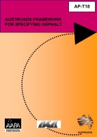 Cover of Austroads Framework for Specifying Asphalt