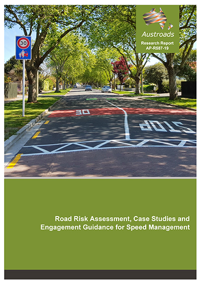Cover of Road Risk Assessment, Case Studies and Engagement Guidance for Speed Management