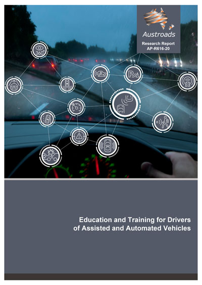 Cover of Education and Training for Drivers of Assisted and Automated Vehicles