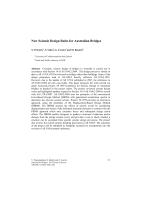 Cover of New Seismic Design Rules for Australian Bridges