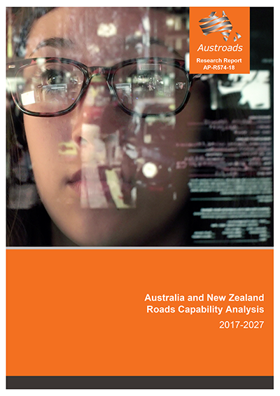Cover of Austroads research report AP-R574-18