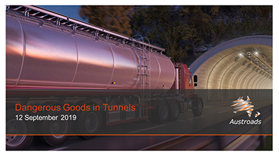 Webinar: Dangerous Goods in Tunnels