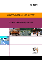 Cover of Sprayed Seal Cutting Practice