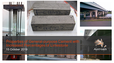 Webinar: Properties of General-purpose Cement with Increased Percentages of Limestone