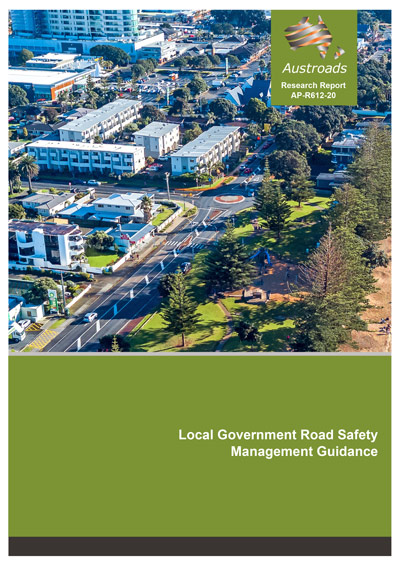 Cover of Local Government Road Safety Management Guidance