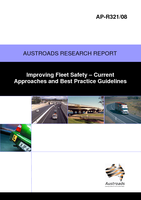 Cover of Improving Fleet Safety: Current Approaches and Best Practice Guidelines