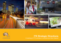 ITS Strategic Directions: A roadmap of ITS activities in Australia and New Zealand